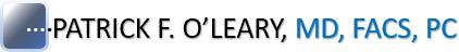 Dr. Patrick F. O'Leary Logo
